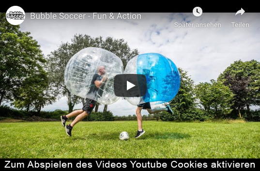 Bubble Soccer Video